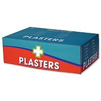 Wallace Cameron Fabric Plasters Assorted 3 Sizes Oblong Pack of 150