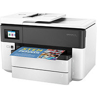 HP Officejet Pro 7730 Wide Format All-in-One - Multifunction printer - colour - ink-jet - 216 x 356 mm (original) - A3 (media) - up to 34 ppm (copying) - up to 34 ppm (printing) - 250 sheets - 33.6 Kbps - USB 2.0, LAN, Wi-Fi(n), USB host