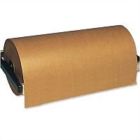 Wide Wrapping Paper Roll Pure Kraft 90gsm 900mm x 225m Masterline