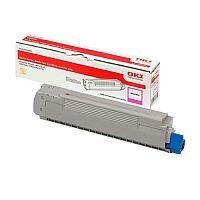 Oki 46507614 Standard Yield Magenta Laser Toner