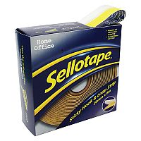 Sellotape Sticky Hook and Loop Strips Dispenser 20mmx6m