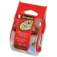 Scotch Extra Quality Packaging Tape in Dispenser 50mm x 20m Clear