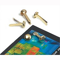 Brass Paper Fasteners 19mm Pack 200 Whitecroft