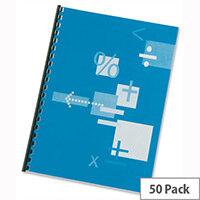 GBC A4 HiClear Binding Covers 150 micron Clear 41600E Pack 25x2
