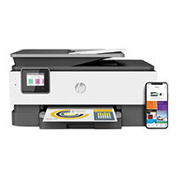 HP Officejet Pro 8022 All-in-One - Multifunction printer - colour - ink-jet - 216 x 297 mm (original) - A4/Legal (media) - up to 29 ppm (copying) - up to 29 ppm (printing) - 225 sheets - 33.6 Kbps - LAN, Wi-Fi(n) - light basalt