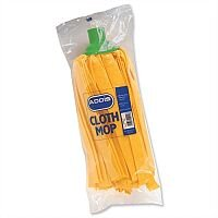 Addis Cloth Mop Head Refill Thick Absorbent Strands Green Ref 9588GRN