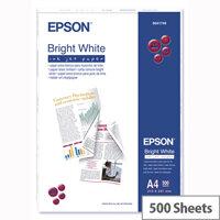 Epson A4 Inkjet Printer Paper 90gsm Bright White Ream (Pack of 500)