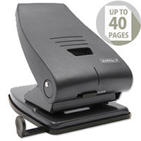 Rapesco 835P 2 Hole Metal Punch Heavy Duty 35 Sheets Black