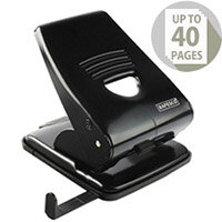 Rapesco 835M 2 Hole Punch Black Metal Heavy Duty 35 Sheets