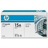 HP 15A Black LaserJet Toner Cartridge C7115A