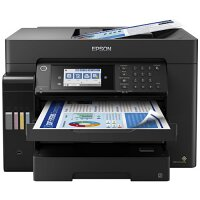 Epson EcoTank Pro ET-16650 Wide-format All-in-One Supertank Printer - A3 Colour Multifunction Ink-Jet Printer - USB, LAN, USB Host, Wi-Fi, Automatic Duplex - Black