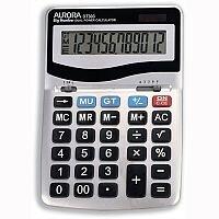 Aurora Desktop Calculator Battery/Solar-power DT303