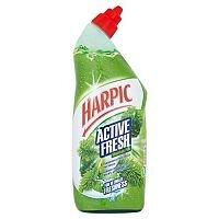 Harpic Fresh Toilet Cleaning Power Active  Gel Pine 750ml Ref N06002
