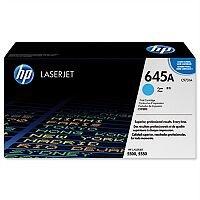 HP 645A Cyan LaserJet Toner Cartridge C9731A