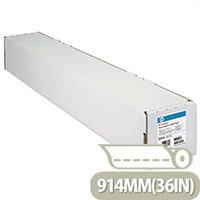HP C6020B White Coated Inkjet Plotter Paper 914mm x 45.7m 90gsm