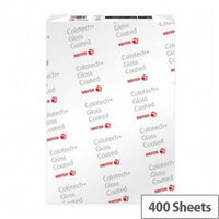 Xerox Colotech+ Gloss Coated Premium Paper A3 140gsm White Pack of 400