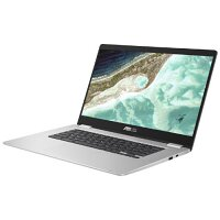 "ASUS CB1500CNA EJ0065 - Celeron N3350 / 1.1 GHz - Chrome OS - 8 GB RAM - 64 GB eMMC - 15.6"" 1920 x 1080 (Full HD) - HD Graphics 500 - Wi-Fi 5, Bluetooth - Colour: Transparent Silver"
