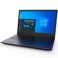 "Dynabook Satellite Pro C40-G-10S - Celeron 5205U / 1.9 GHz - Win 10 Home 64-bit - 8 GB RAM - 128 GB SSD - 14"" IPS 1920 x 1080 (Full HD) - UHD Graphics - Wi-Fi 5, Bluetooth - dark blue, tile black (keyboard)"