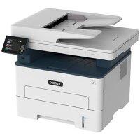 "Xerox B235V_DNIUK Multifunction A4 Mono Laser Printer (Print, Copy, Scan, Fax) - Colour 2.4"" Touchscreen Display, Duplex Printing, 36ppm Print Speed, 1200dpi, 250 Sheets Feeder - USB 2.0, Wireless WiFi, LAN, Apple AirPrint - Colour: Grey"
