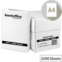 HuntOffice Whitebox Printer Paper A4 75gsm White Box of 2500 Sheets