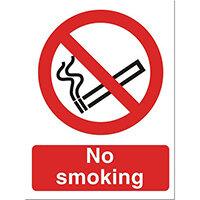 Stewart Superior No Smoking Self Adhesive Sign Ref P089SAV