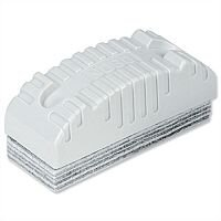 Nobo Whiteboard Eraser With 10 Disposable Felt Layers