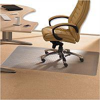 Cleartex Advantagemat Chair Mat PVC for Low Pile 2.5mm Carpet Rectangular 1210x1520mm 1115225EV