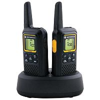 Motorola XTB446 2 Radios Walkie Talkies 8 Channels 8km Range - Easy and simple to use - Designed for everyday use - Up to 14 Hours battery life