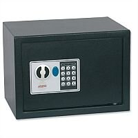 Phoenix Digital Safe Changeable Code Electronic Lock 17L Capacity 8kg W350xD250xH250mm Ref SS0802E