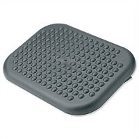 Adjustable Massaging Comfort Footrest Charcoal