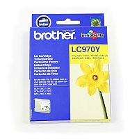 Brother LC970Y Yellow Ink Cartridge