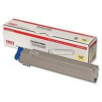 OKI 42918913 Yellow Toner for C9600 C9800 - Original