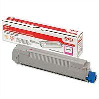 OKI 43487710 Magenta Toner Cartridge for C8600 C8800
