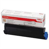 OKI 43502002 High Yield Black Toner for B4600 B4400