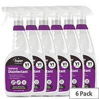V1 Antiviral Disinfectant 750ml Pack of 6