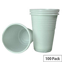 Biodegradable Disposable Vending Cups Tall 7oz/207ml [Pack of 100] SSeco