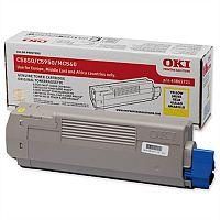 OKI 43865721 Yellow Toner Cartridge