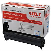 OKI 43870023 Cyan Image Drum Unit