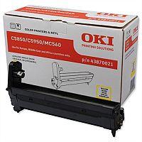 OKI 43870021 Yellow Image Drum Unit