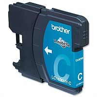 Brother LC-1100HYC Cyan High Yield Ink Cartridge LC1100HY-C