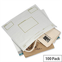 Ampac Extra Strong Oxo-Biodegradable Polythene Envelope 400x430mm Opaque Pack of 100