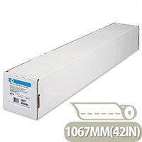 HP White Heavyweight 1067mm Coated Plotter Paper Roll Ref C6569C