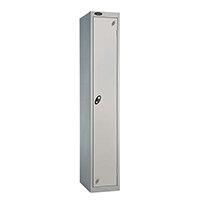 Probe 1 Door Locker ACTIVECOAT W305xD305xH1780mm Silver Body & Doors