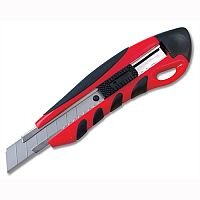 Heavy Duty Box Cutter with Locking Device and Snap-off Blades 5 Star