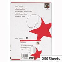 5 Star Address Labels 99.1x38.1mm White (3500 Labels)