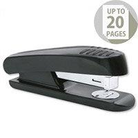 Stapler Half Strip Plastic Capacity 20 Sheets Black-Grey 5 Star