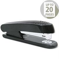 Plastic Stapler Black-Grey Full Strip 20 Sheets 5 Star