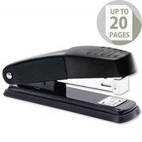 Metal Stapler Half Strip Black-Grey Capacity 20 Sheets 5 Star