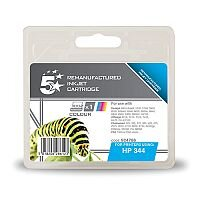 HP 343 Compatible Colour Ink Cartridge C8766EE 5 Star