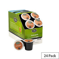 Green Mountain Coffee French Vanilla Pack 24 K-Cup pods for Keurig